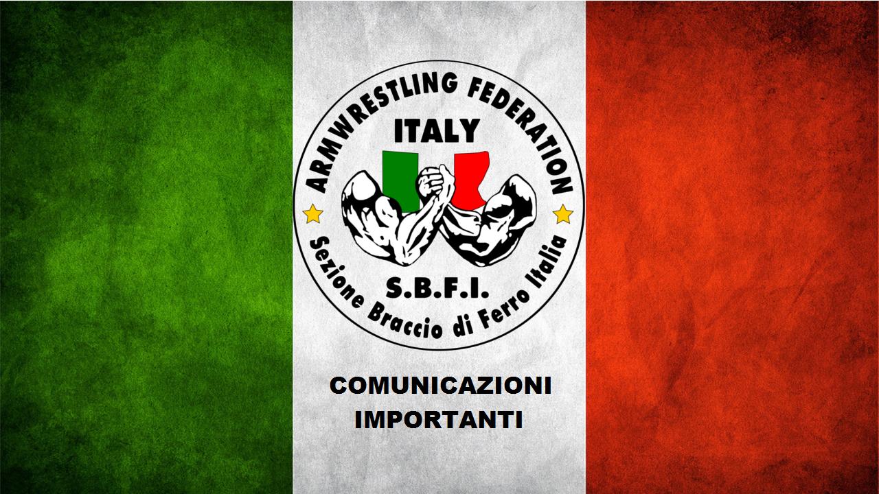 Variazione Orari Campionato Italiano