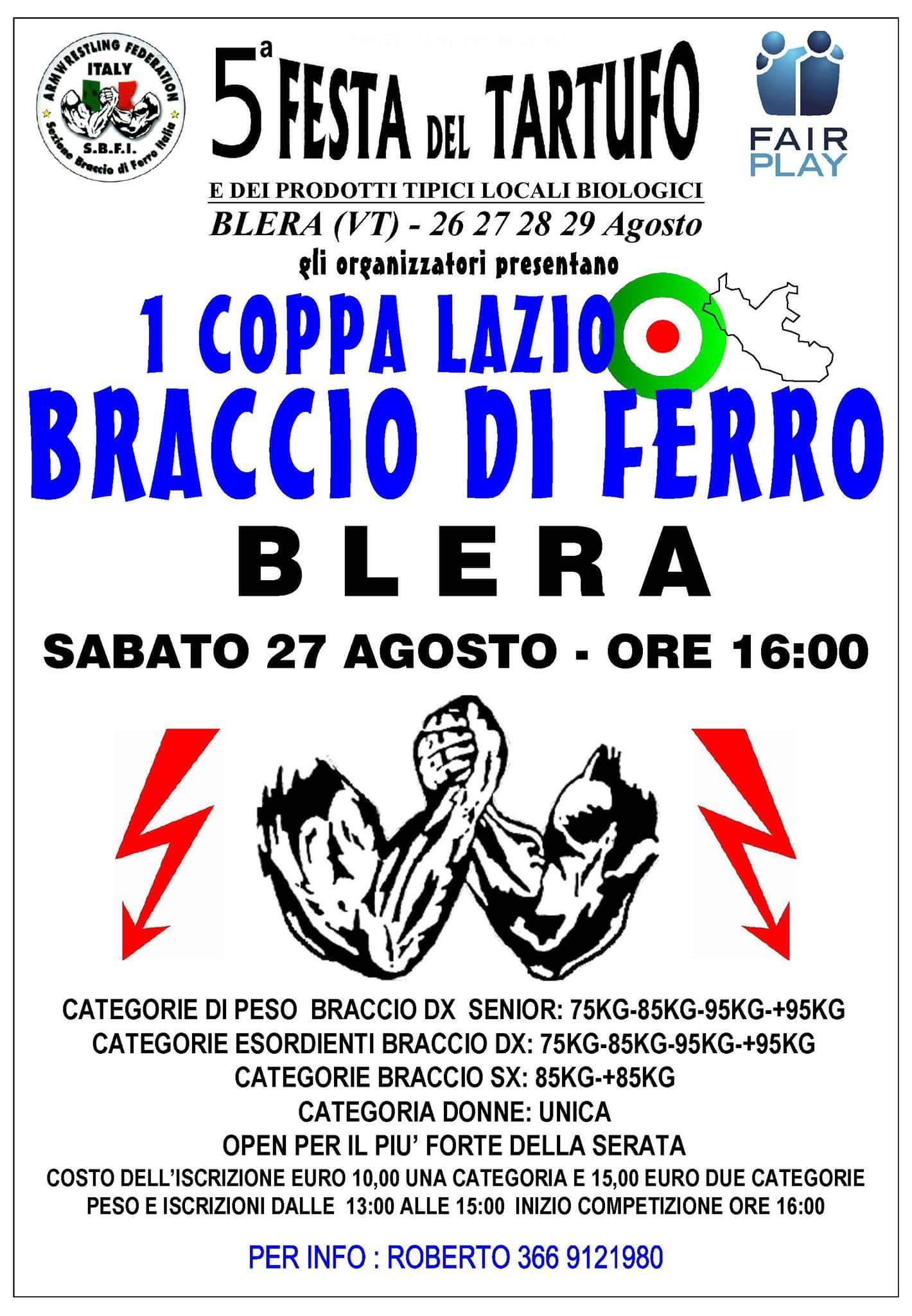 1° Coppa Lazio