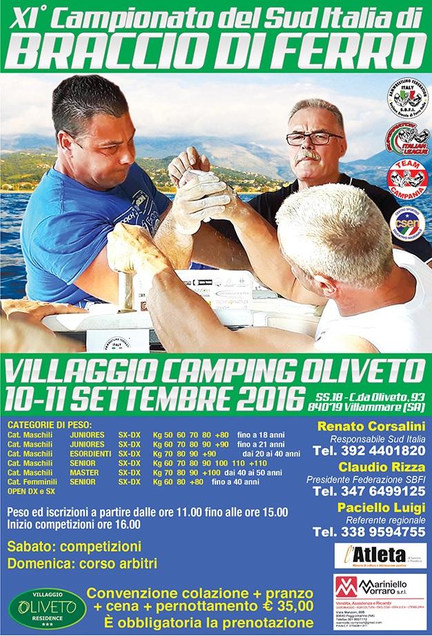 XI Campionato Sud Italia 2016