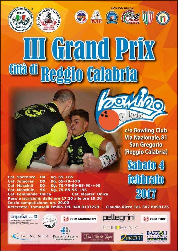 3° Grand Prix Reggio Calabria