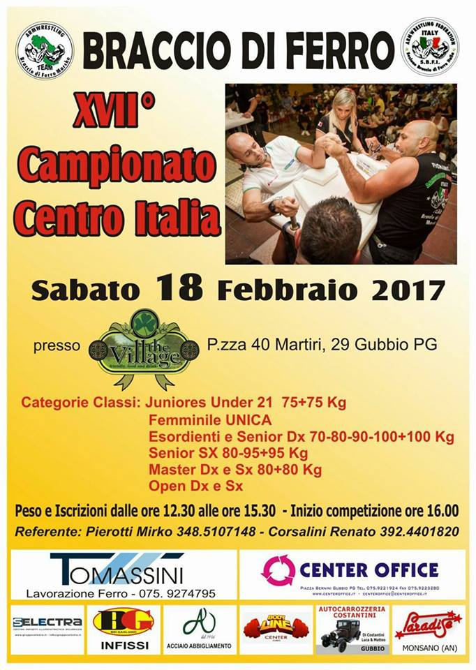 XVII Campionato Centro Italia
