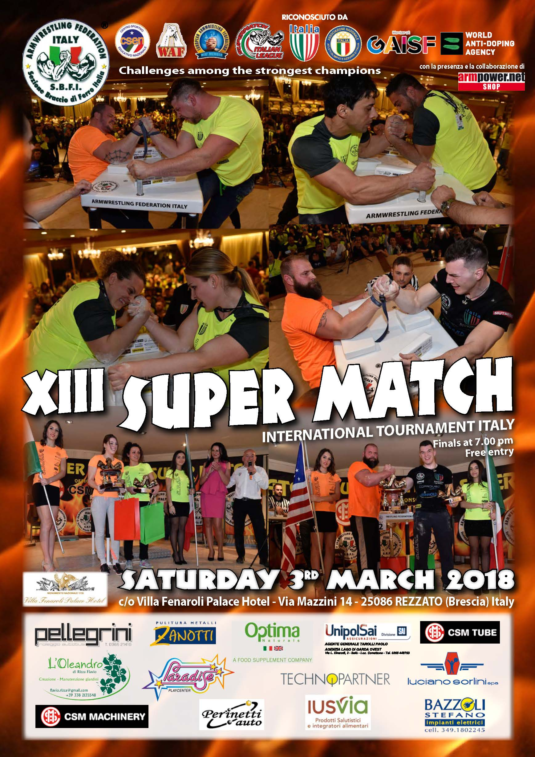 Super Match 2018….Is coming!