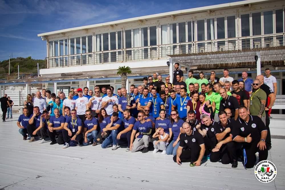 SBFI - Sezione Braccio di Ferro Italia - Campionato Centro Italia 2019