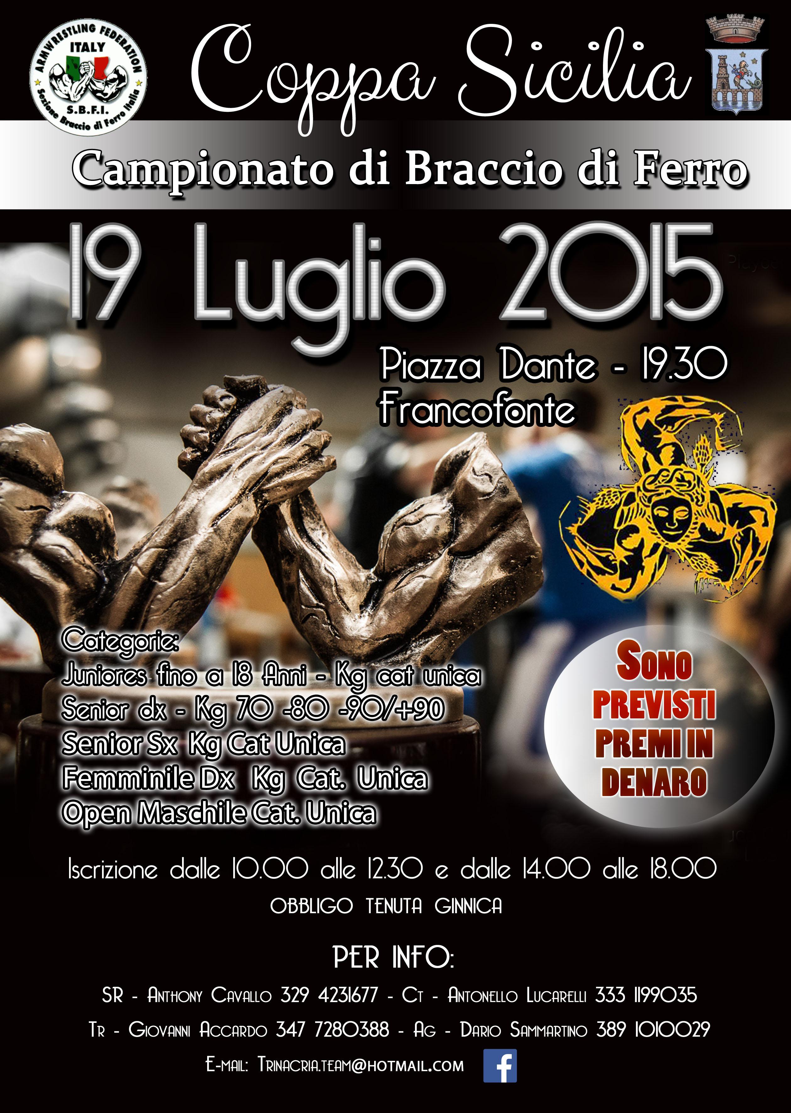 Coppa Sicilia 2015