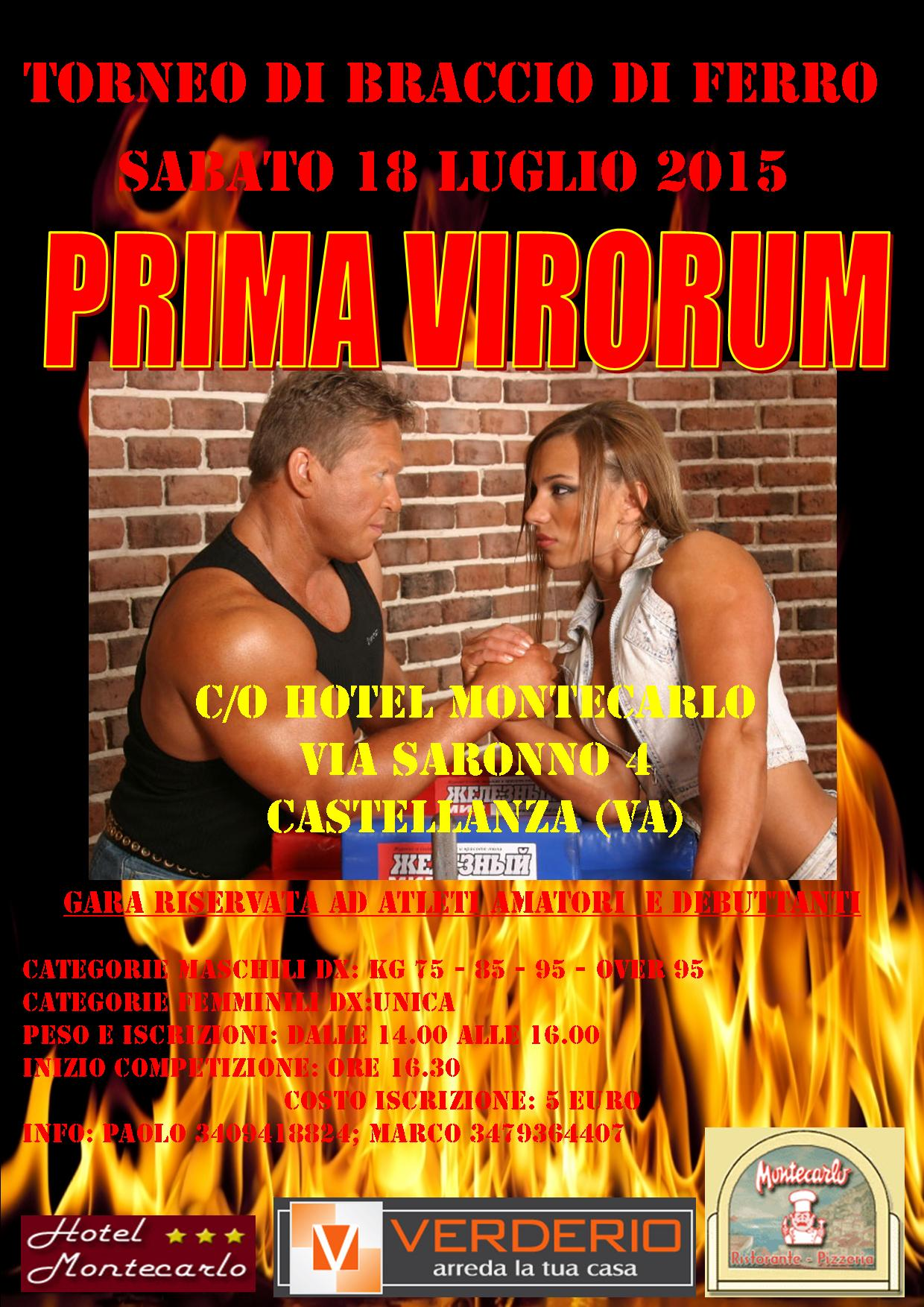 Prima Virorum 2015