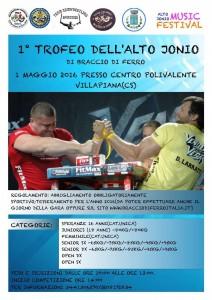TROFEO DELL' ALTO JONIO 2016