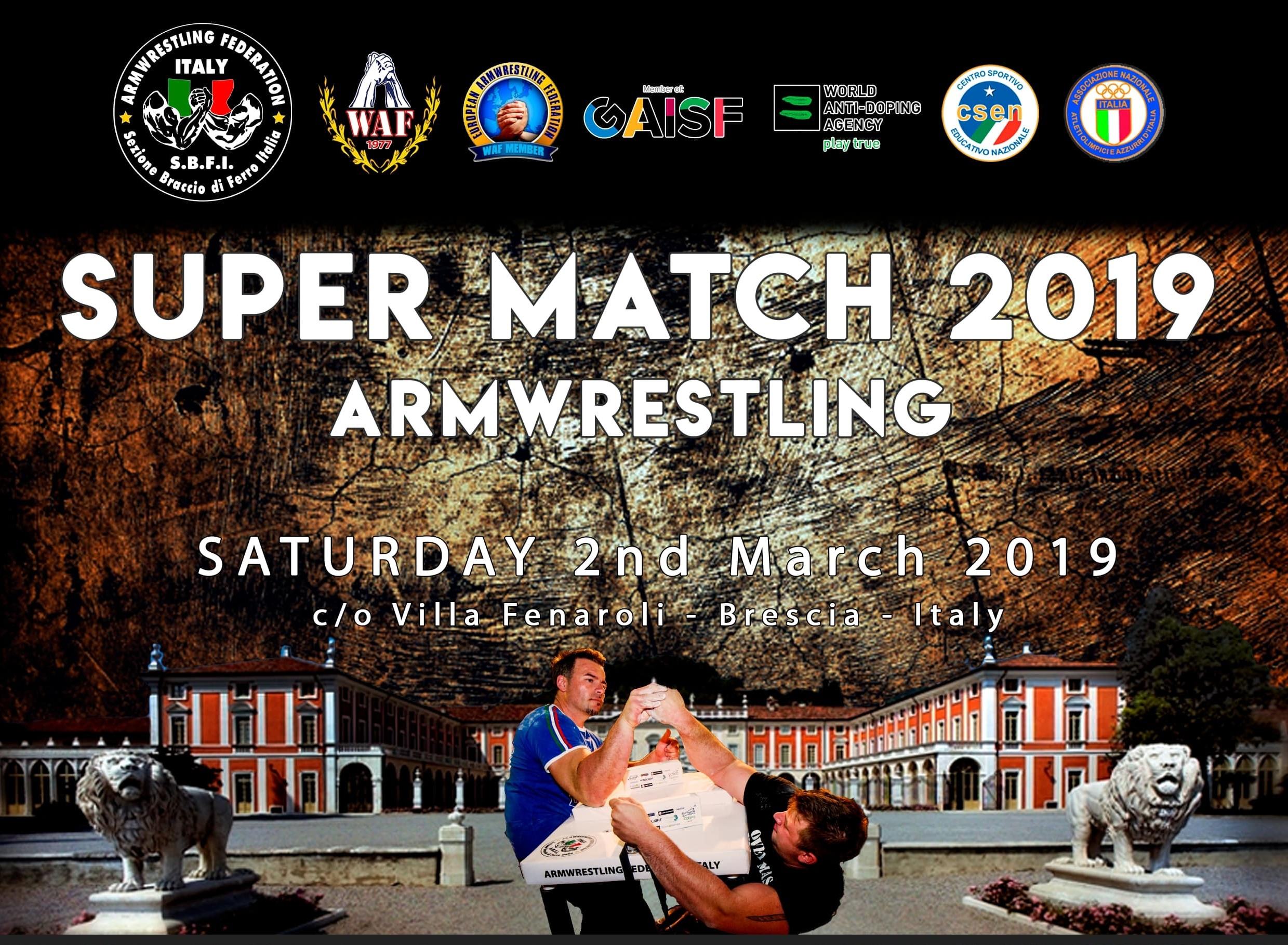 Resoconto Super Match 2019