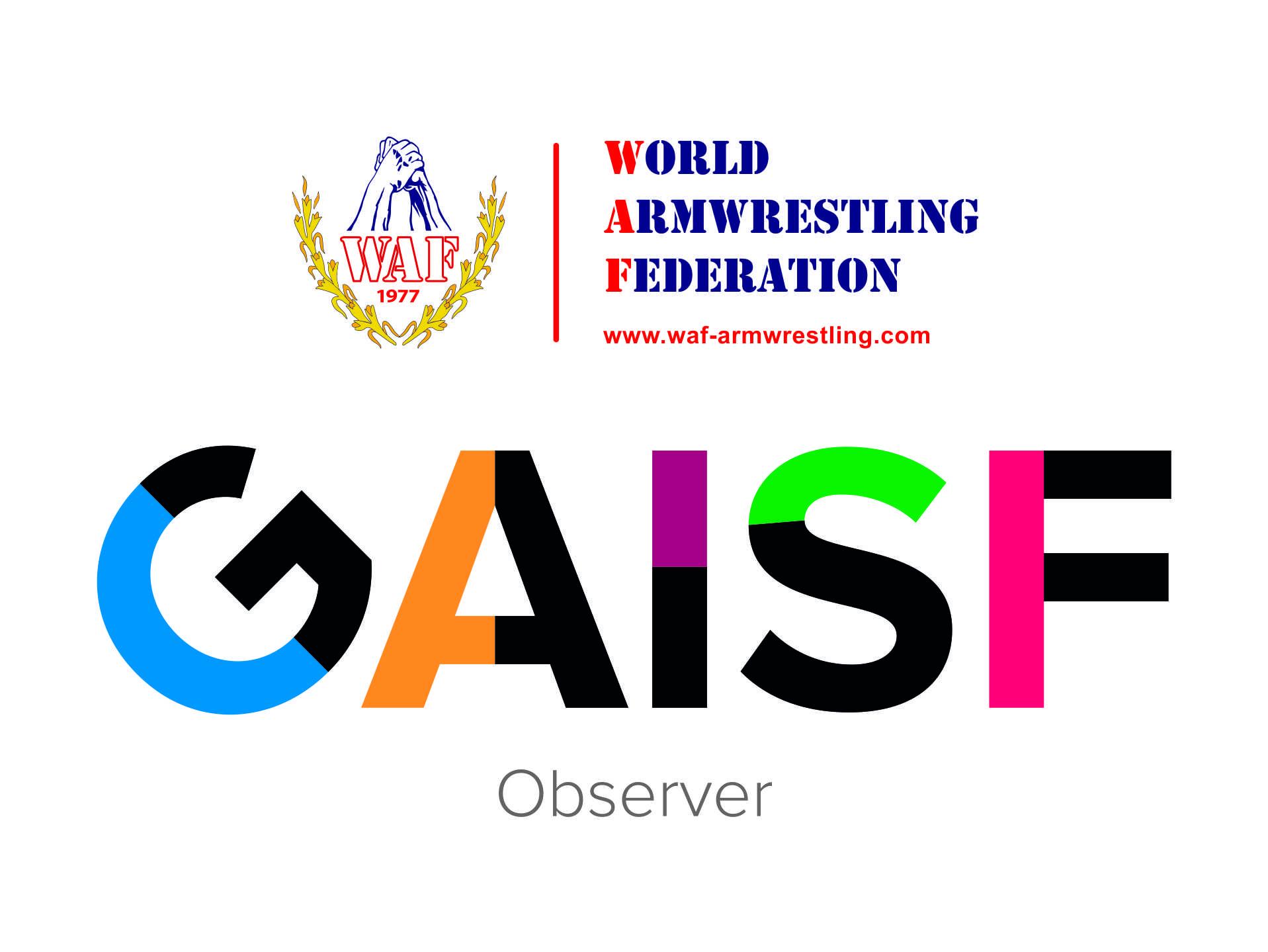 Riconoscimento GAISF