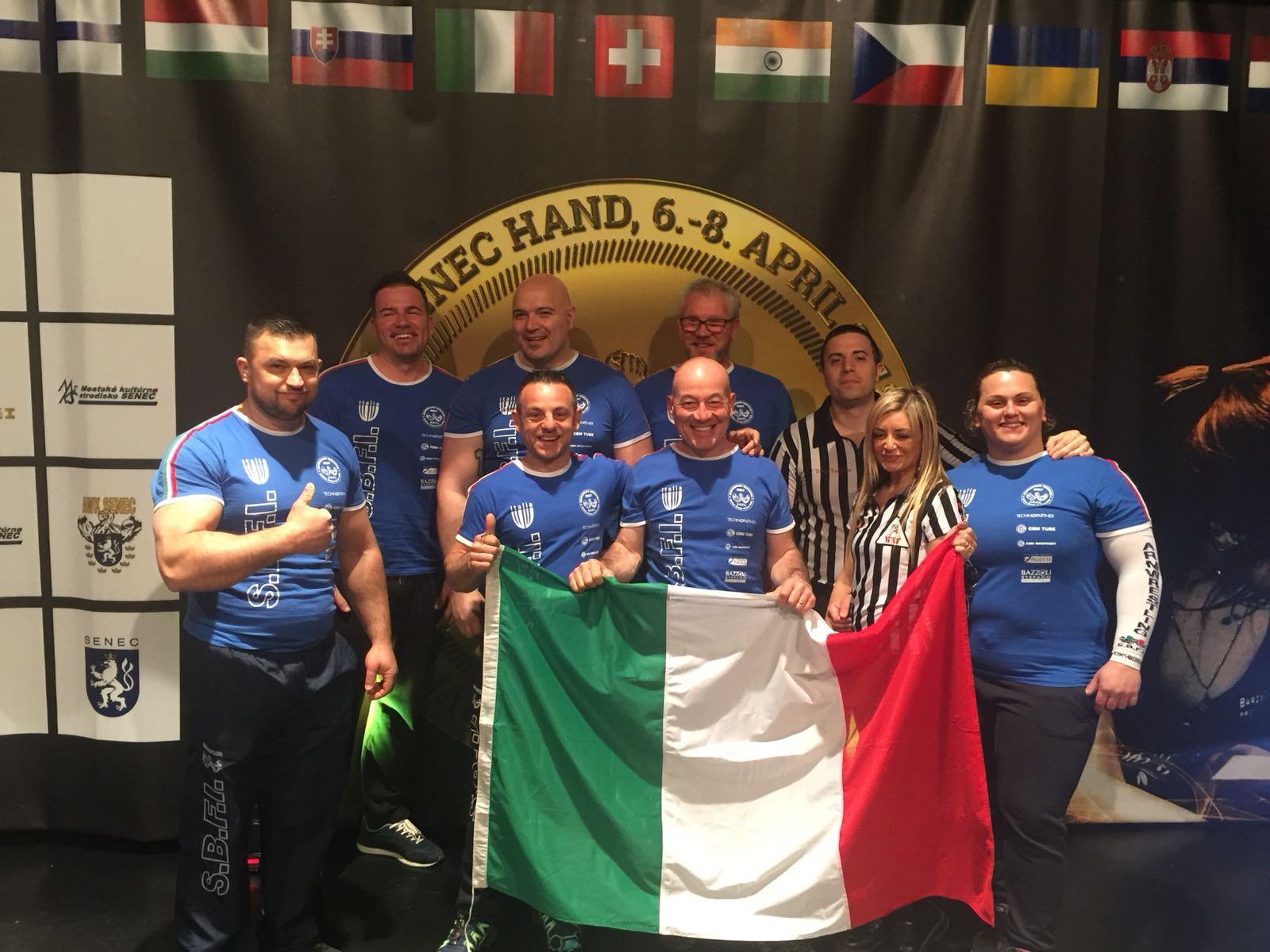 Nazionale Italiana Senec 2018
