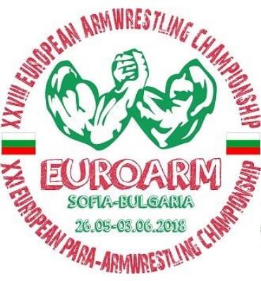Iscrizione EuroArm 2018