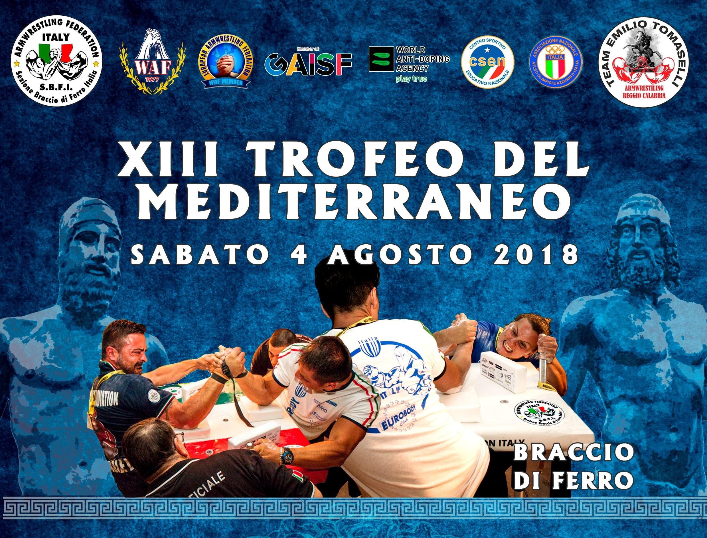 Resoconto XIII Trofeo del Mediterraneo