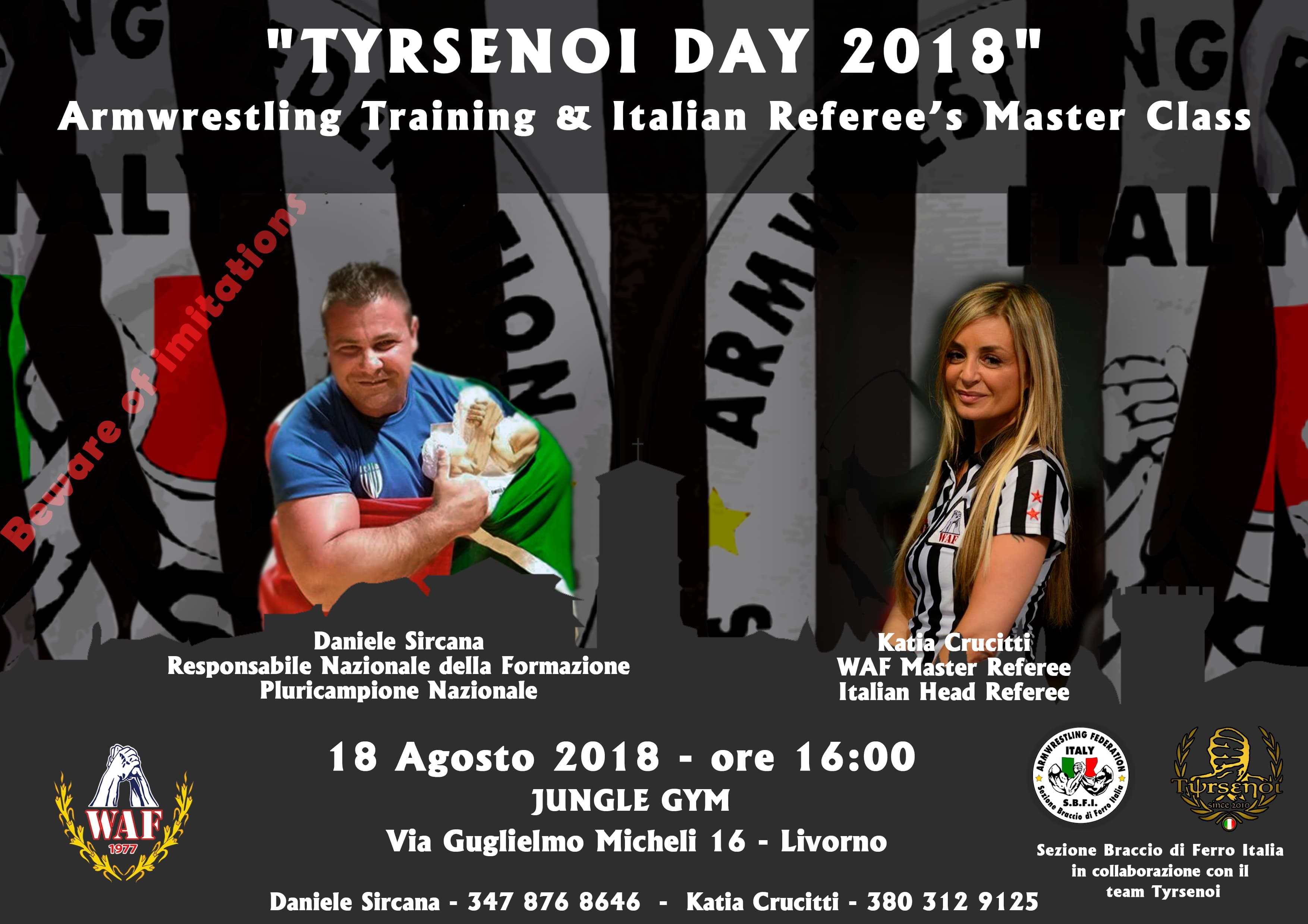 Tyrsenoi Day 2018