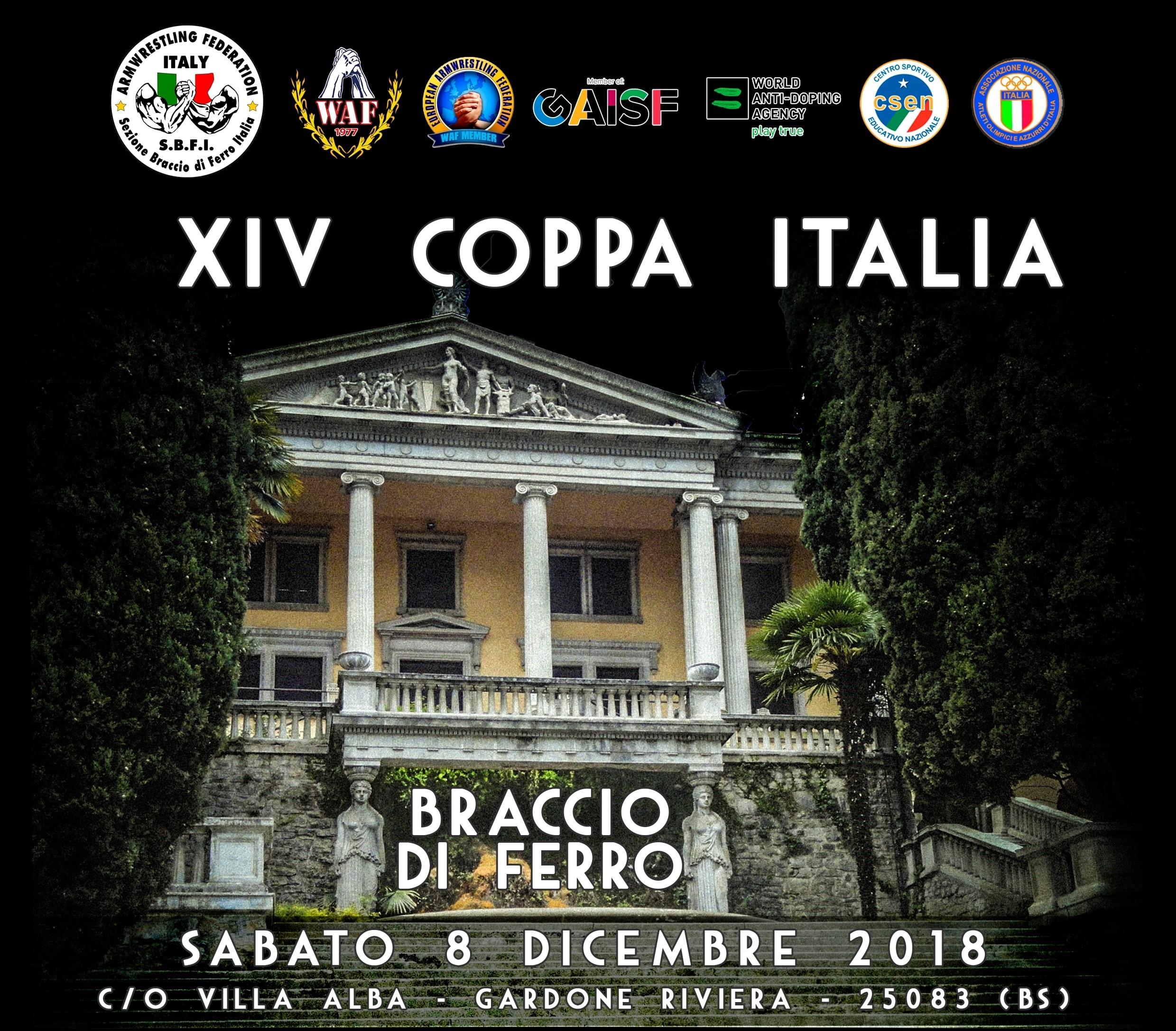 Resoconto XIV Coppa Italia