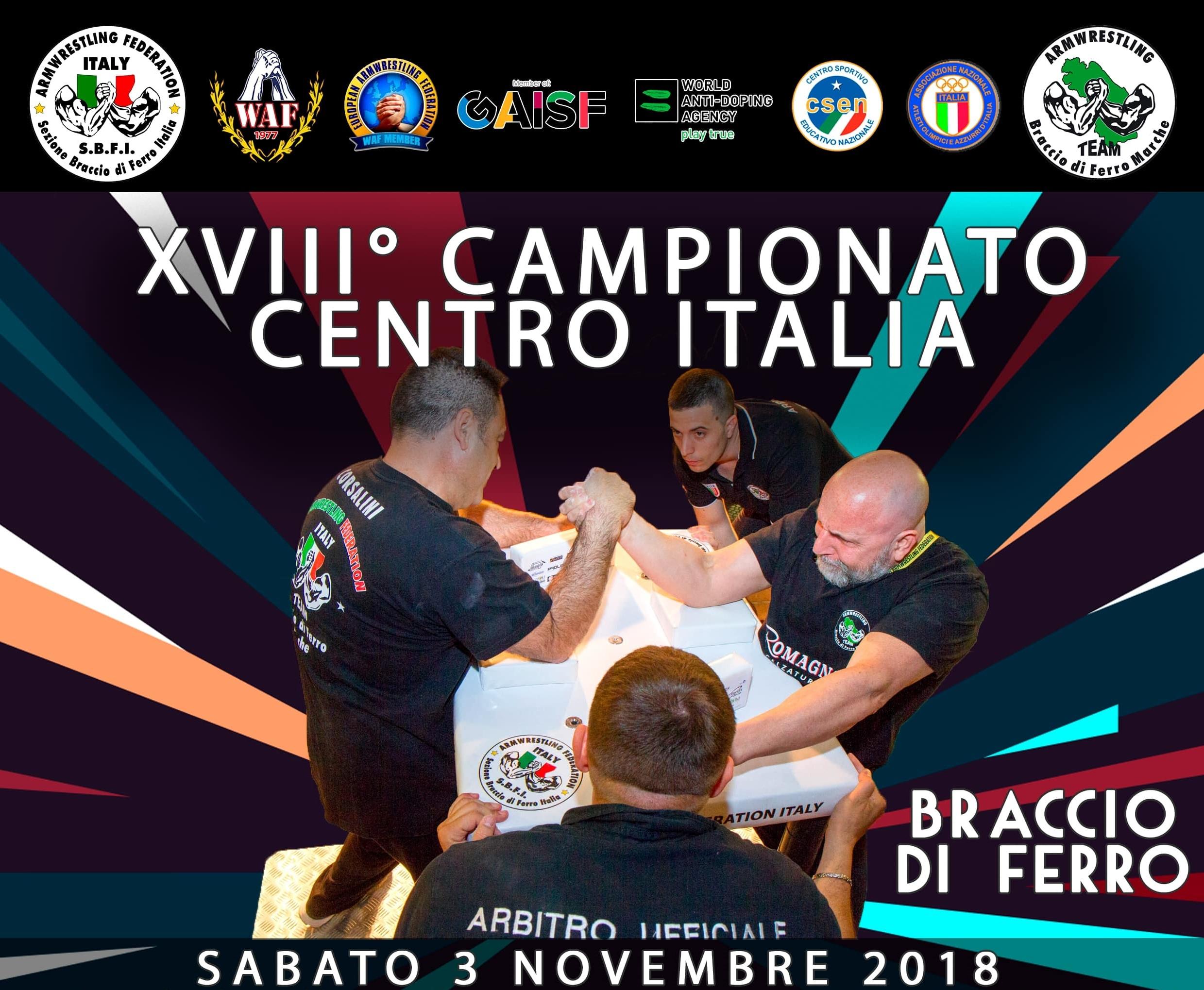 Resoconto XVIII Campionato Centro Italia