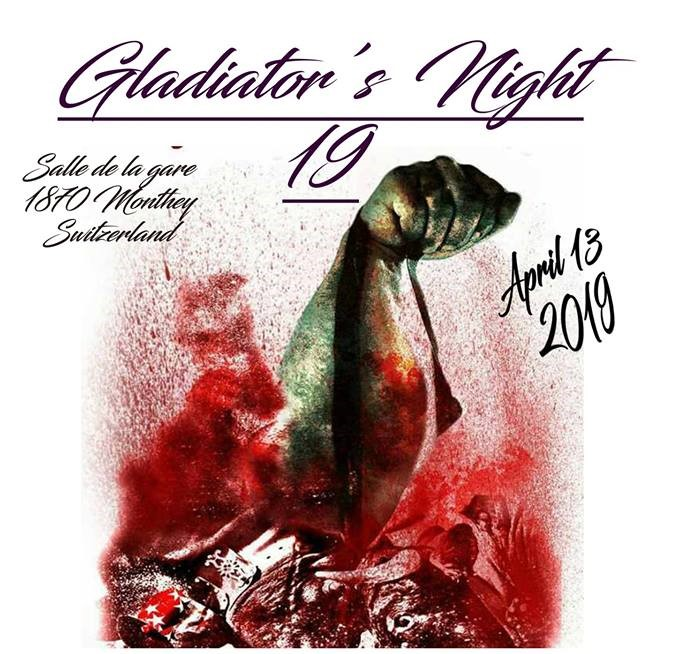 Presentazione Gladiator's Night 2019