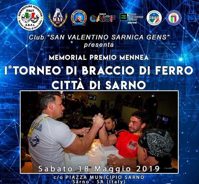 Presentazione I° Torneo città di Sarno