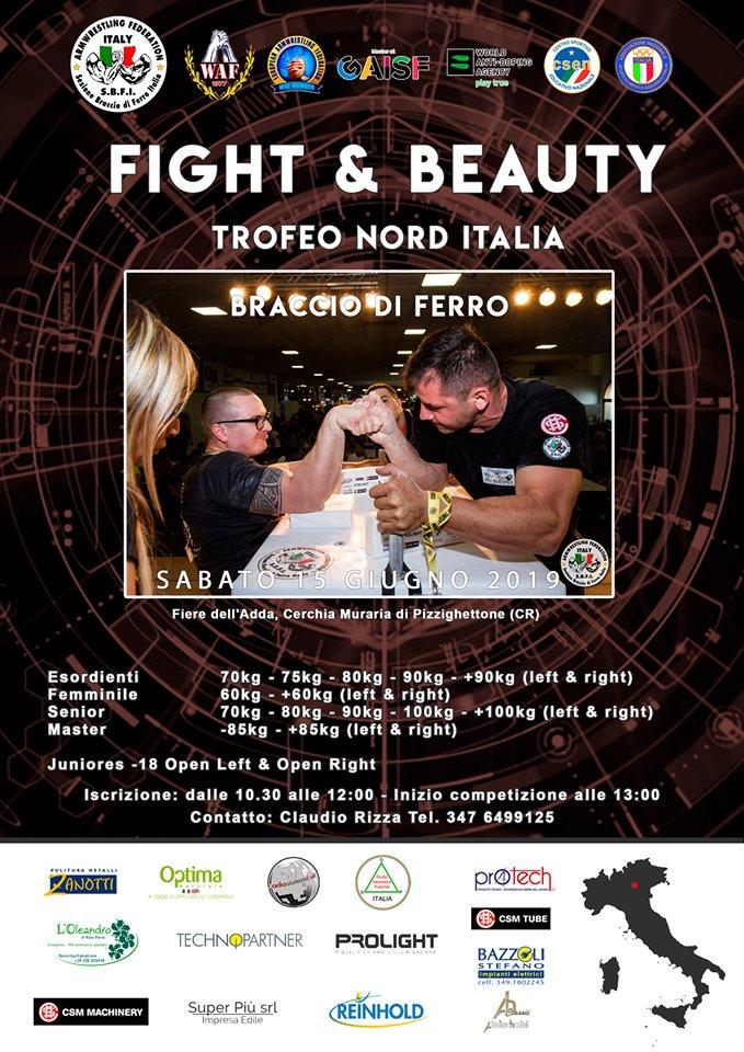 SBFI - Sezione Braccio di Ferro Italia - Trofeo Nord Italia 2019