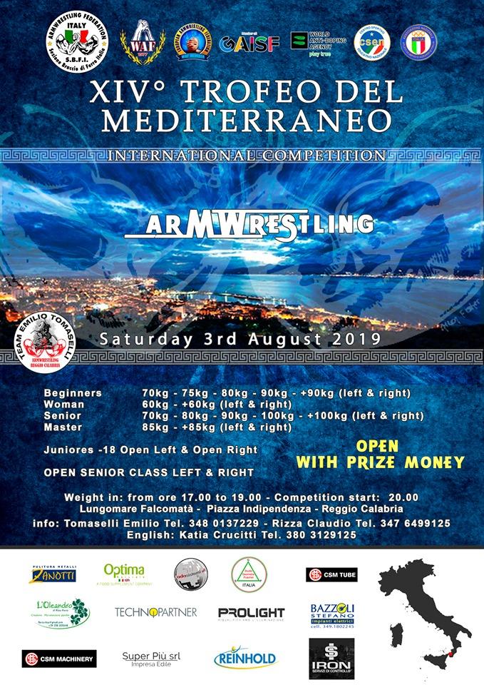 SBFI - Sezione Braccio di Ferro Italia - XIV Trofeo del Mediterraneo