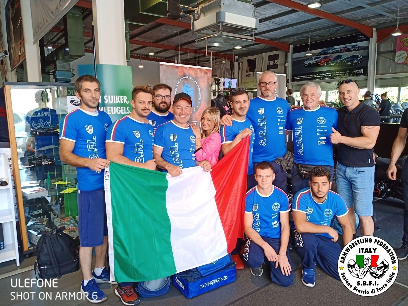 SBFI - Sezione Braccio di Ferro Italia - Lussemburgo 2019
