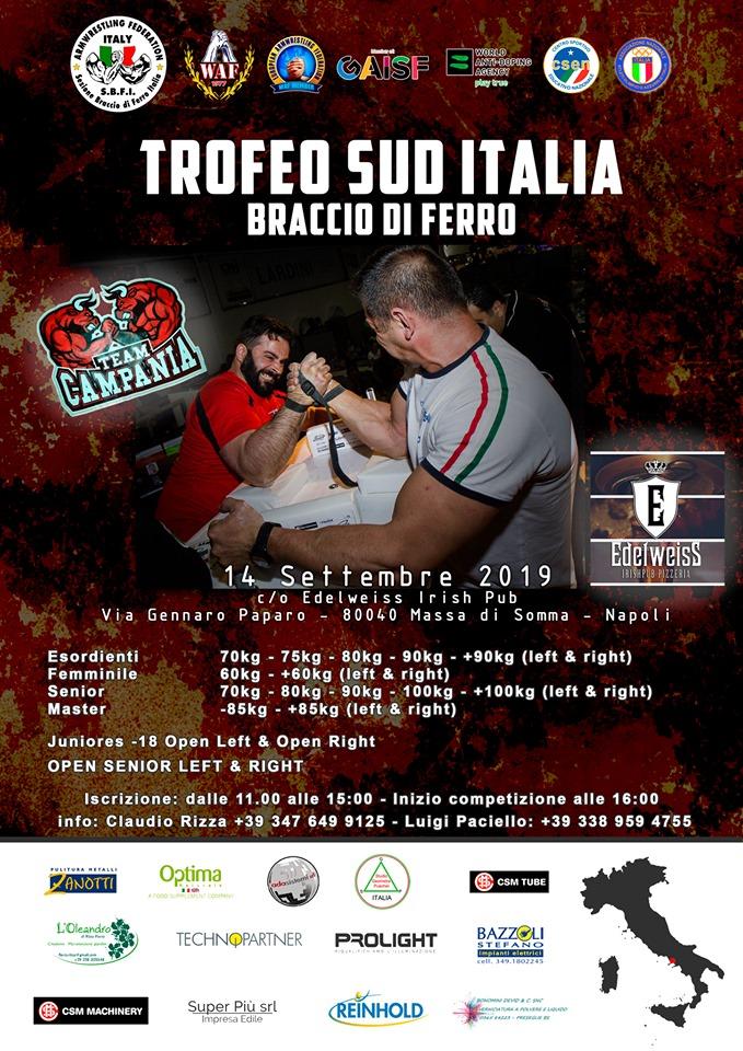 SBFI - Sezione Braccio di Ferro Italia - Campionato Sud Italia 2019