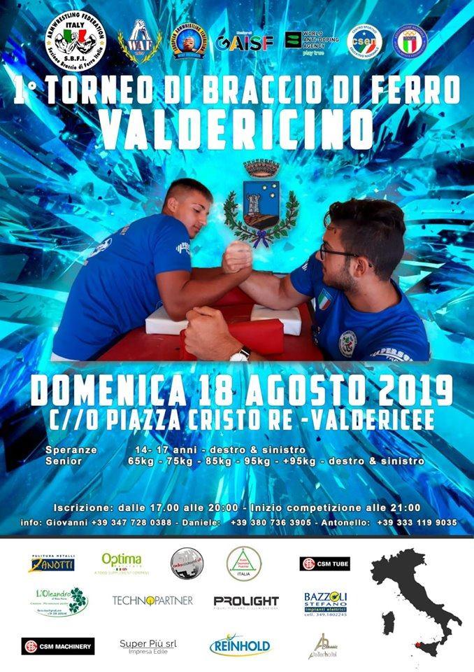 SBFI - Sezione Braccio di Ferro Italia - I Trofeo Valdericino