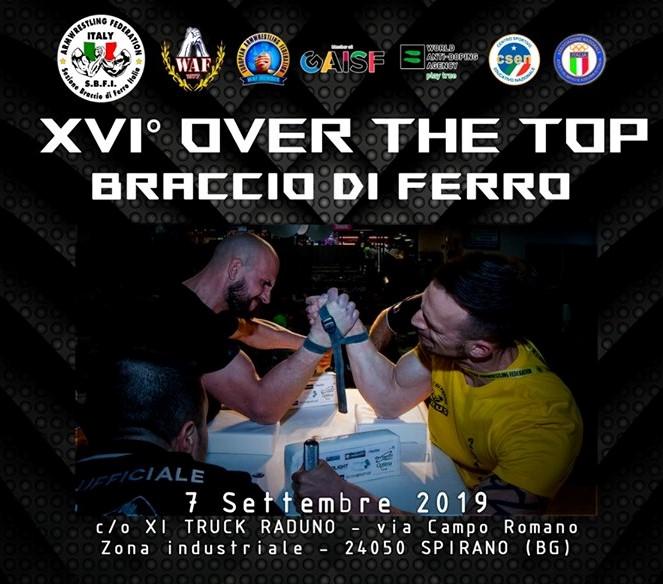 Resoconto XVI Trofeo Over the Top
