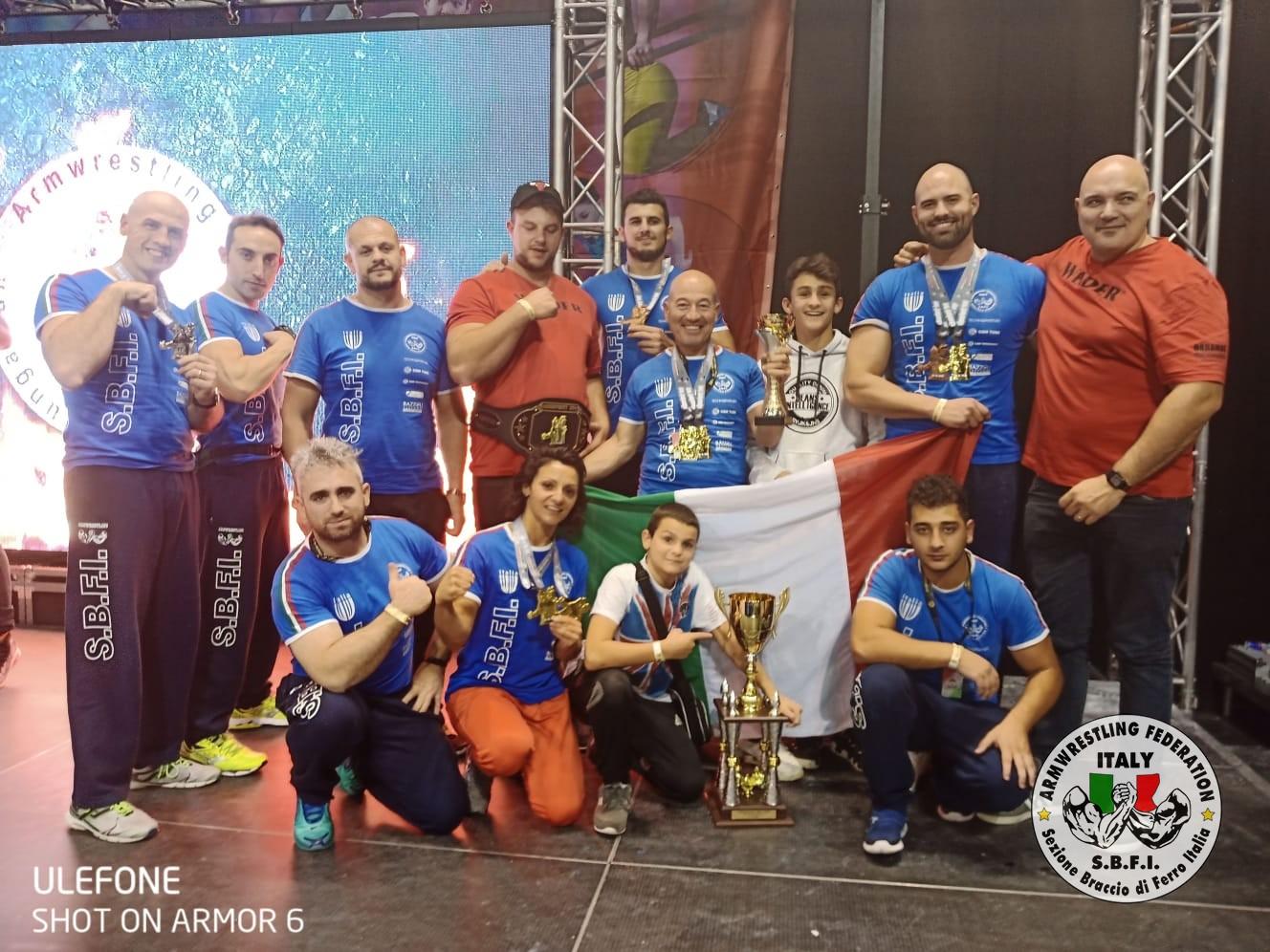 SBFI - Sezione Braccio di Ferro Italia - Judgement Day 2019