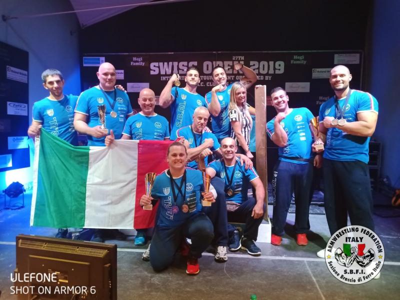 SBFI - Sezione Braccio di Ferro Italia - Swiss Open 2019