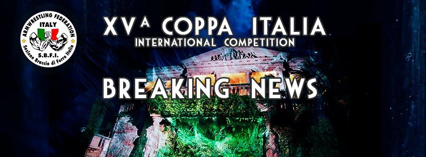 SBFI - Sezione Braccio di Ferro Italia - Coppa Italia 2019
