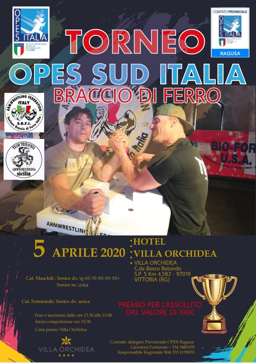 SBFI - Sezione Braccio di Ferro Italia - Torneo Opes sud Italia
