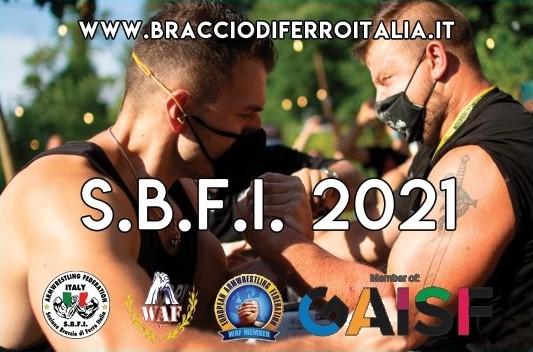 SBFI - Sezione Braccio di Ferro Italia - TESSERA 2021
