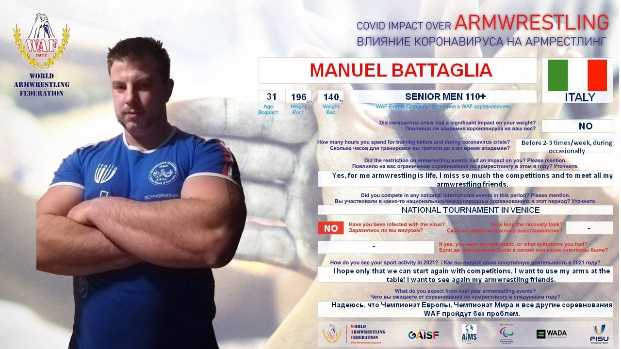 SBFI - Sezione Braccio di Ferro Italia - Manuel Battaglia WAF