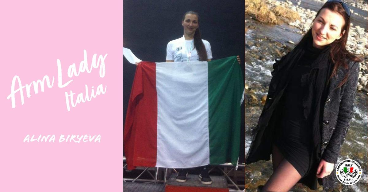 SBFI - Sezione Braccio di Ferro Italia - Arm Lady Alina Biryeva