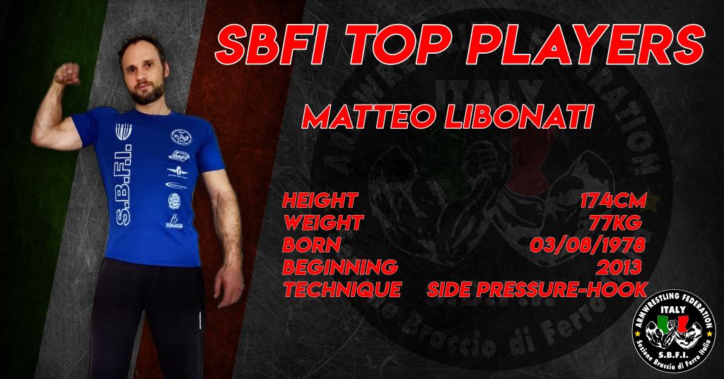 SBFI - Sezione Braccio di Ferro Italia - Top Players Matteo Libonati