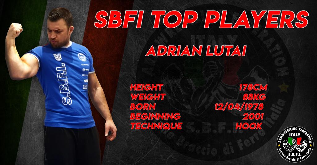 SBFI - Sezione Braccio di Ferro Italia - Top Players Adrian Lutai
