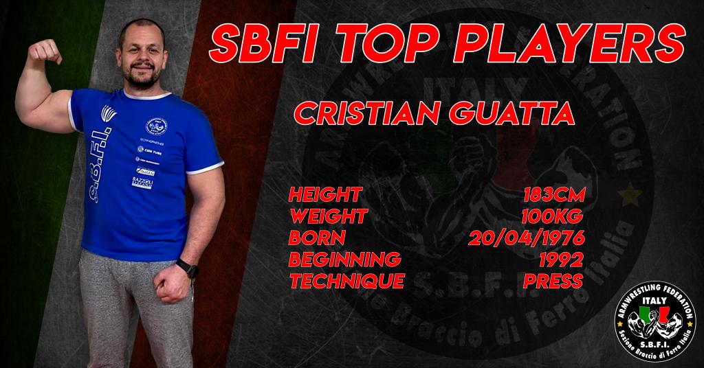 SBFI - Sezione Braccio di Ferro Italia - Top Players Cristian Guatta