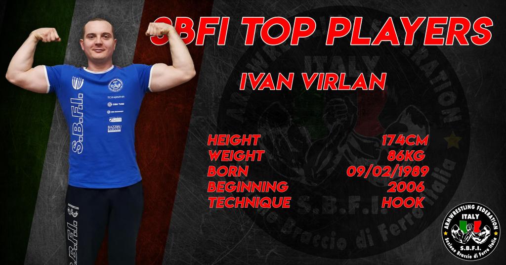 SBFI - Sezione Braccio di Ferro Italia - Top Players Ivan Virlan