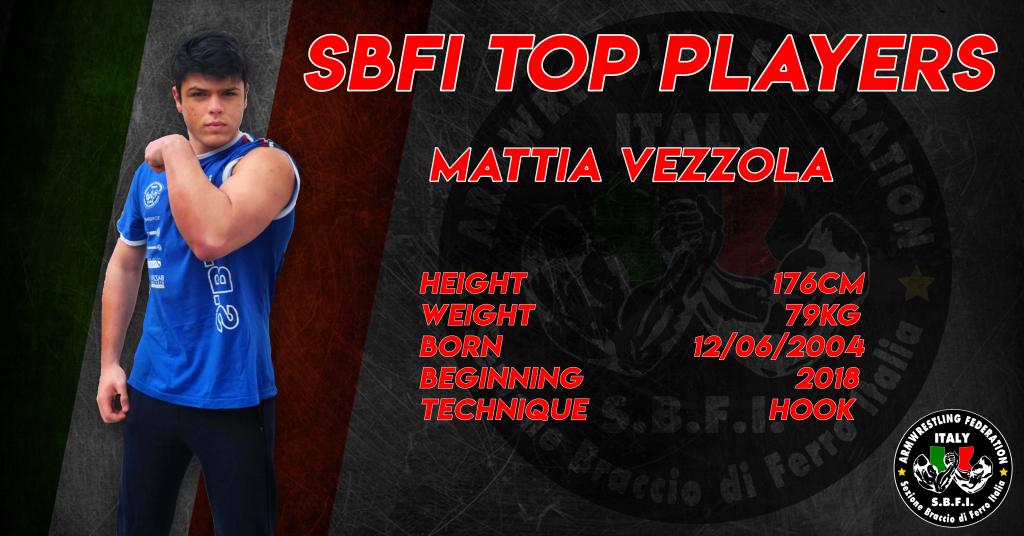 SBFI - Sezione Braccio di Ferro Italia - Top Players Mattia Vezzola