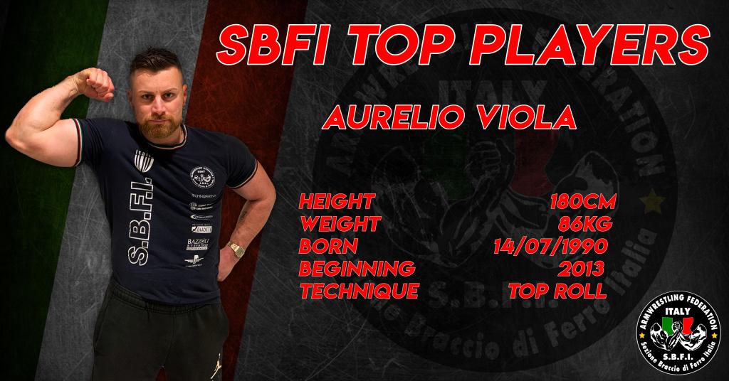 SBFI - Sezione Braccio di Ferro Italia - Top Players Aurelio Viola