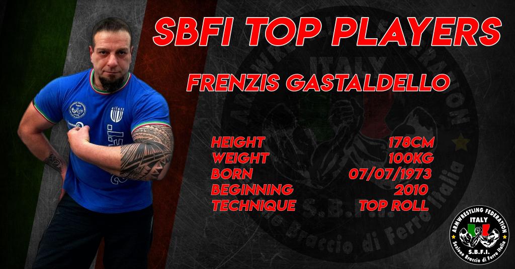 SBFI - Sezione Braccio di Ferro Italia - Top Players Frenzis Gastaldello