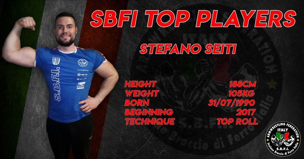 SBFI - Sezione Braccio di Ferro Italia - Top Players Stefano Seiti