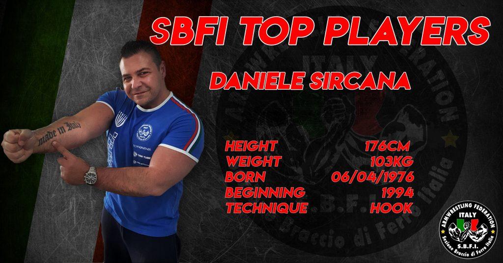 SBFI - Sezione Braccio di Ferro Italia - Top Players Daniele Sircana