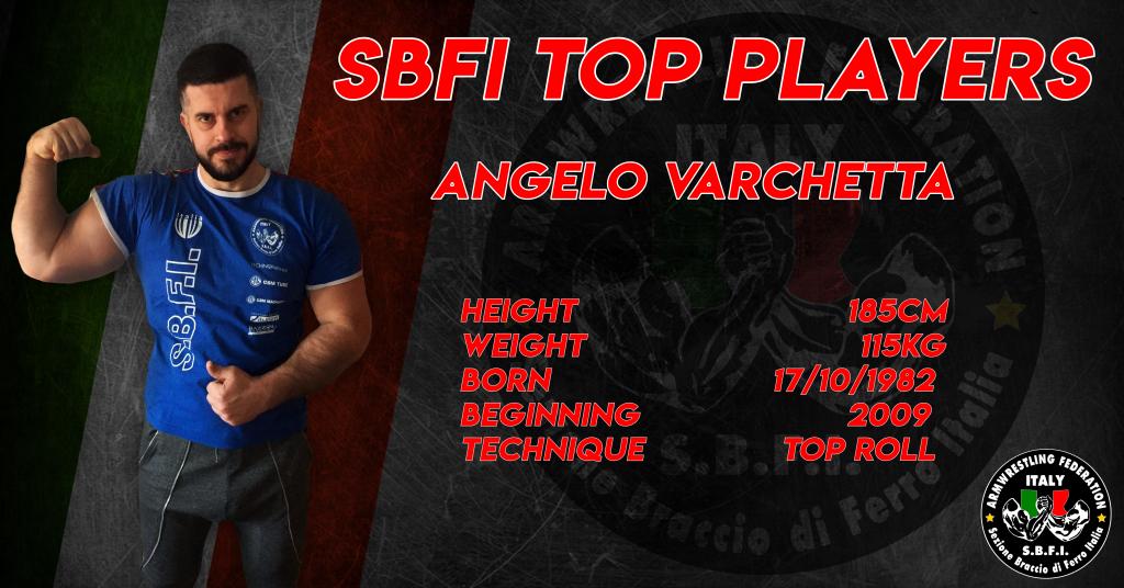 SBFI - Sezione Braccio di Ferro Italia - Top Players Angelo Varchetta
