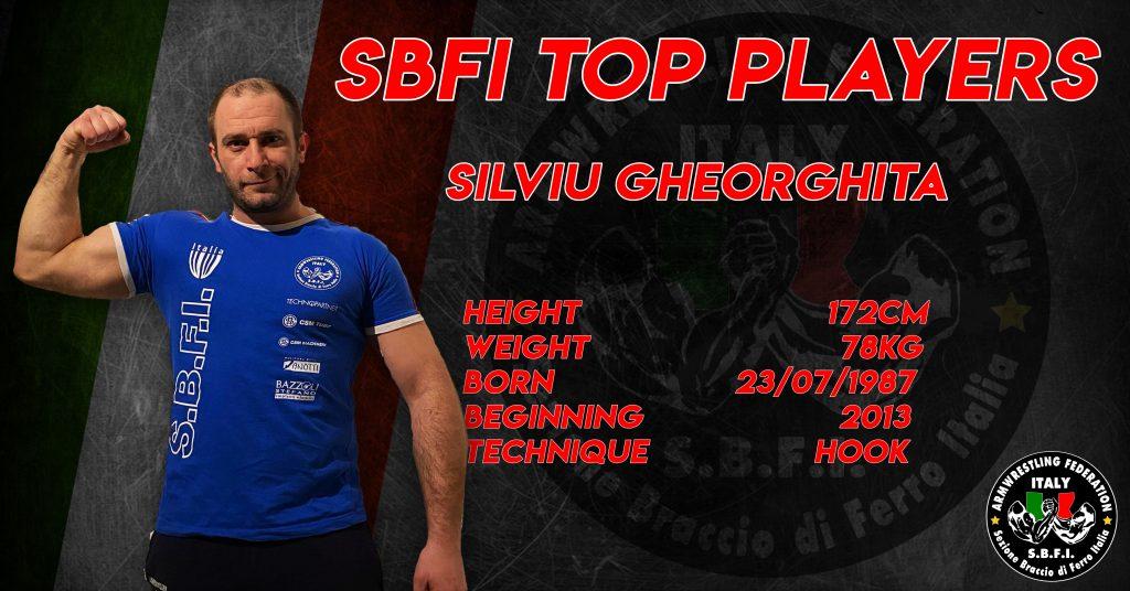 SBFI - Sezione Braccio di Ferro Italia - Top Players Silviu Gheorghita
