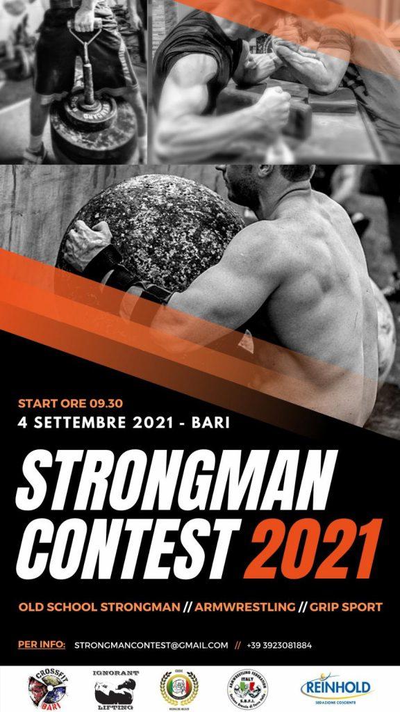 SBFI - Sezione Braccio di Ferro Italia - Strongman Contest 2021