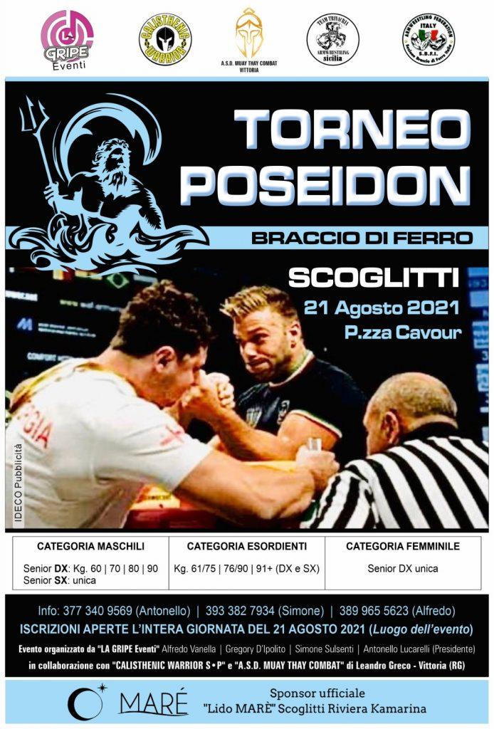 SBFI - Sezione Braccio di Ferro Italia - Torneo Poseidon 2021