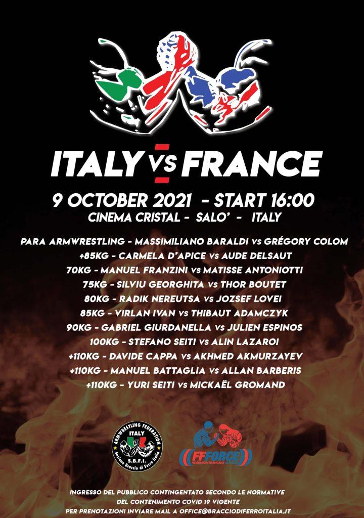 SBFI - Sezione Braccio di Ferro Italia - Italy vs France